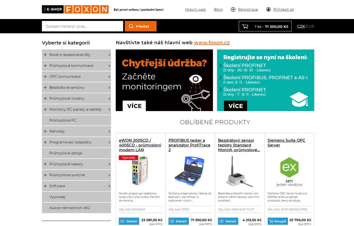 FOXON s.r.o. | Nakoduju.cz