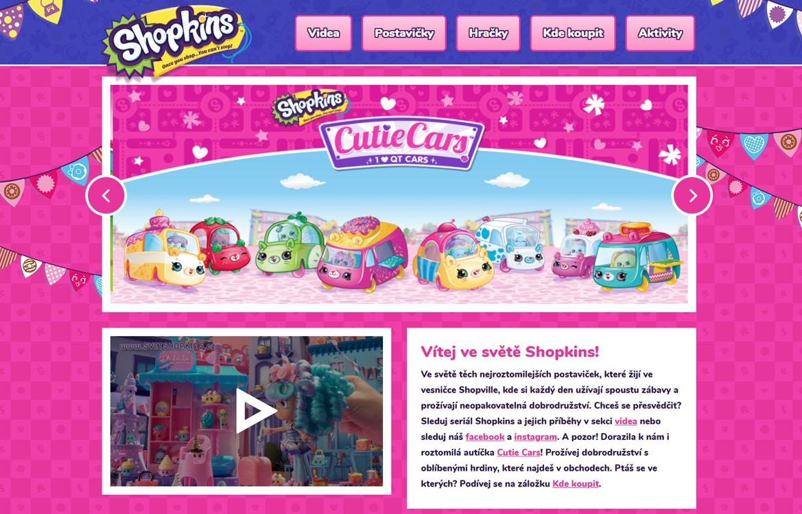 Svět Shopkins - screenshot