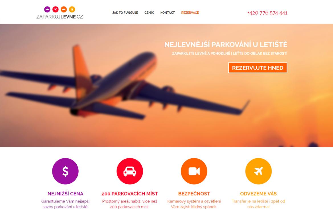ZaparkujLevne.cz - screenshot